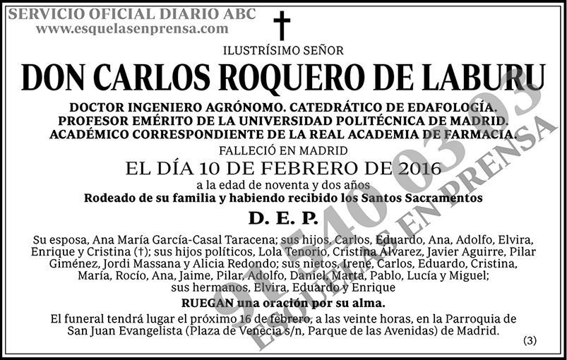 Carlos Roquero de Laburu